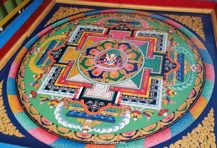 Sagarmatha, Kani gate, Jorsalle, Nepal, Himalayas, Buddhist painting, art, color, photo, travel, Olympus