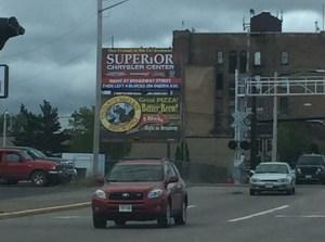 Superior, Wisconsin,street scene, traffic