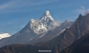 Hiking in Nepal:  To My Turning Point – Deboche (Day 4)