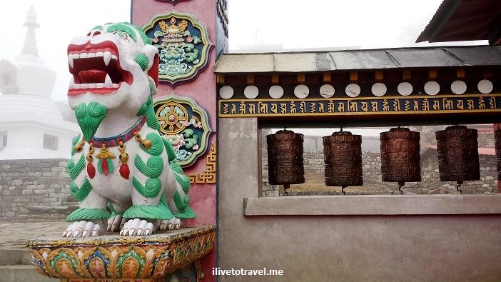 Tengboche, monastery, Himalayas, Nepal, Tibetan, color, Samsung Galaxy