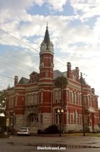 downtown, Brunswick, Georgia, red brick, architecture, charming, photos,