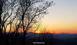 Georgia, Atlanta, hike inn, hiking, outddors, nature, photo, sunrise, sun