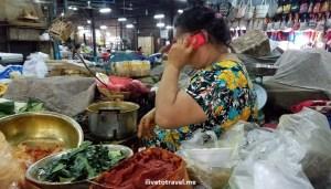 local market, Siem Reap, Cambodia, Asia, travel, explore, adventure, photo, Samsung Galaxy, S7