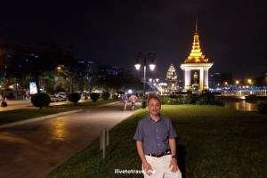 Phnom Penh, Cambodia, independence monument, plaza, travel, explore, Asia, photo, Samsung Galaxy