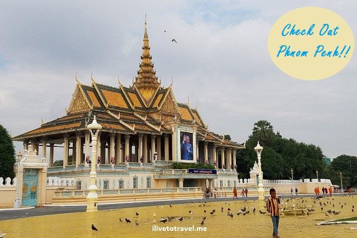 Phnom Penh, Cambodge, Camboya, royal palace, Cambodia,