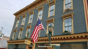 Bristol, Vermont, travel, photo, explore, charm, US flag