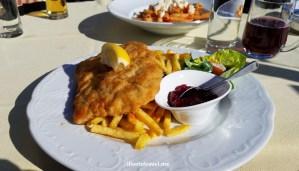 Schnitzel, lunch, Oberlech, ski, skiing, Lech, Austria, mittagessen
