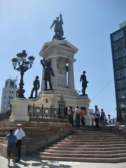 monumento, guerra, Iquique