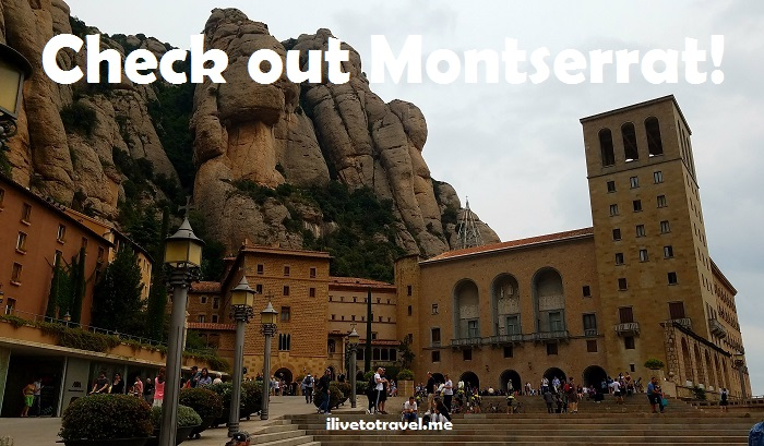 Montserrat, Montserrate, Spain, Cataluña, Catalan, catholic, basilica, monastery,, mountain, travel, atrium