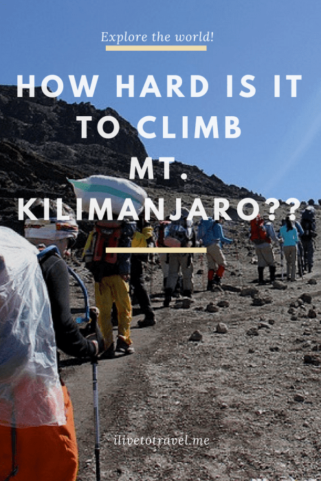 how hard climb kilimanjaro, kilimanjaro training, can i climb kilimanjaro