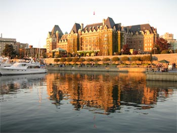 The Empress Hotel - Inner Harbour - Victoria, BC