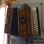 Diatonic Button Accordion in Museum in Castro