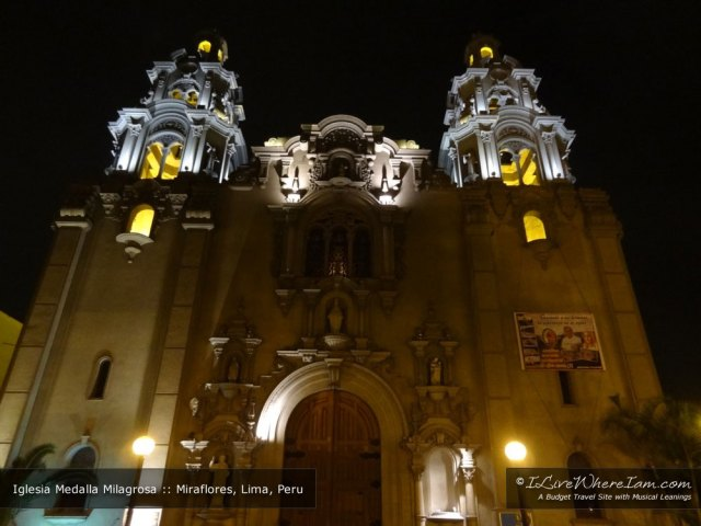 Iglesia Medalla Milagrosa in Miraflores (Iglesia Virgen Milagrosa)