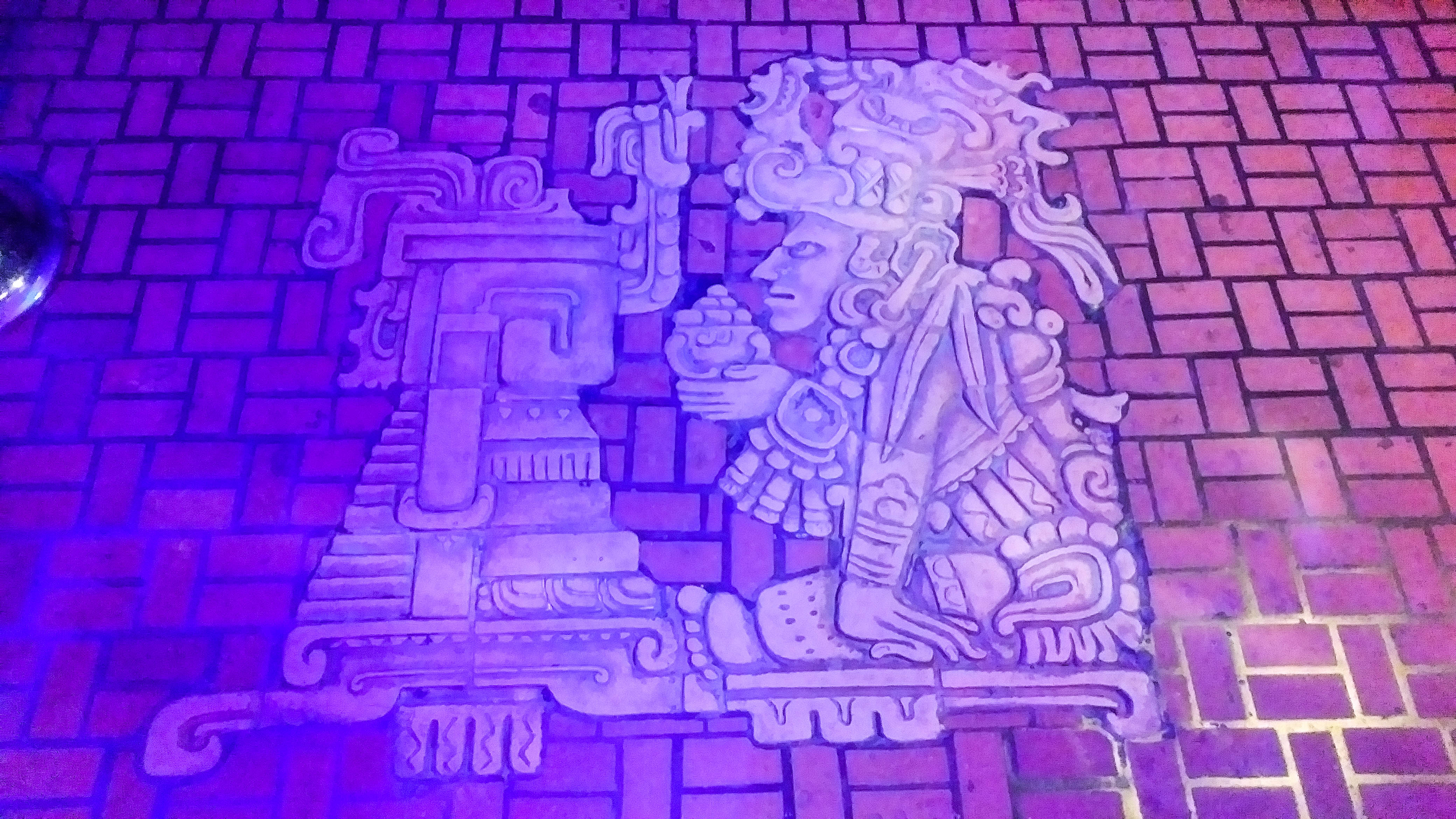Entrance floor - The Mayan Theater - Downtown LA
