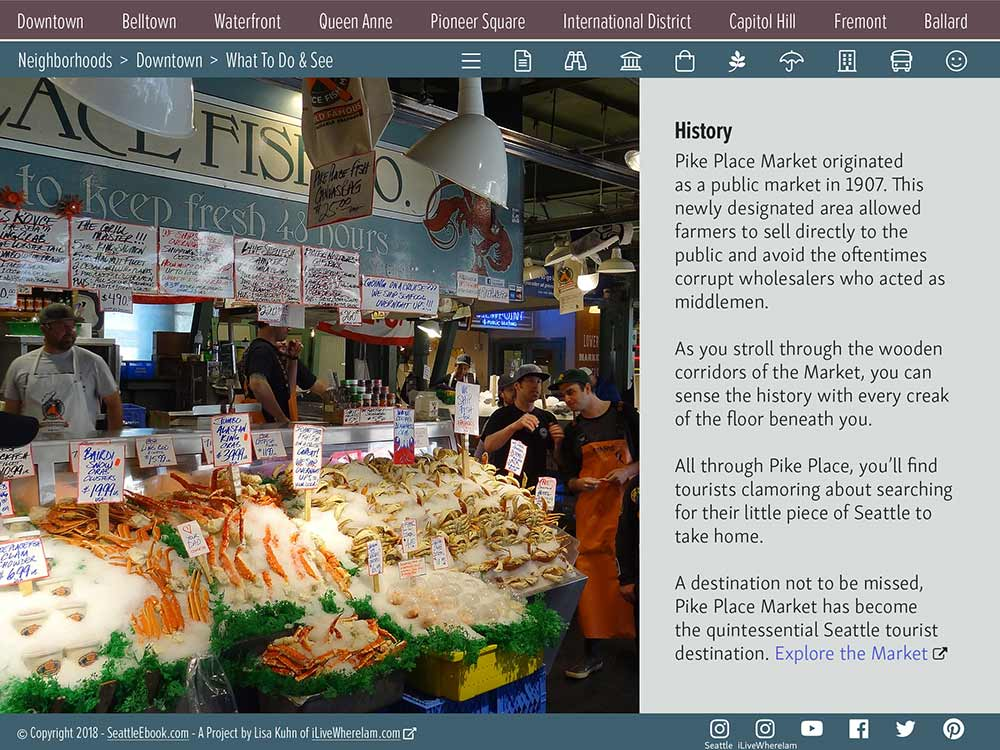 Pike Place Market - History