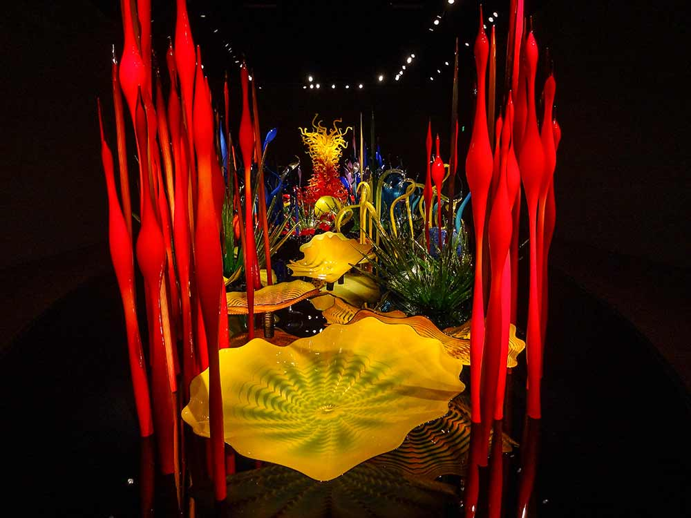 Chihuly Garden & Glass - forest