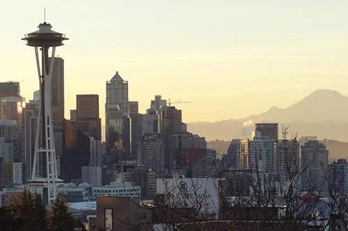 Seattle Center Space Needle - Kerry Park