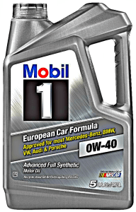 Mobil 1 sae 0w 40 advanced full synthetic engine motor oil for Mobil 1 annual protection motor oil barcode