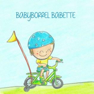 babyborrelkaartje voorkant babette