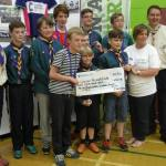 Fund raising scouts