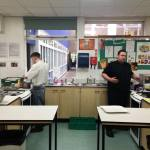 Cooking masterclass at Kirk Hallam Community Academy