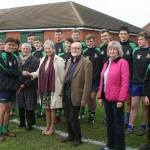 County Councillors Backing Youth Rugby in Ilkeston
