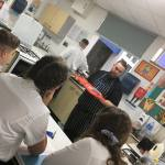 Cooking masterclass at Kirk Hallam
