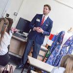 Ex-students from Ormiston Ilkeston Enterprise Academy returned to inspire curren…