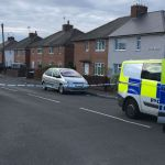 Police cordon off road in Heanor after 'loud bang like a gun shot'