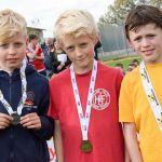 Hundreds of primary pupils took part in a cross-country festival organised by Er…