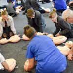 Students from Ormiston Ilkeston Enterprise Academy learnt how to save a life as …
