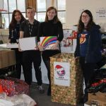 Students collect donations for food bank…
