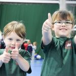 Catching, balancing and dancing were just some of the activities on offer to pri…