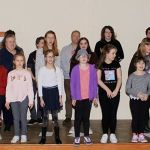 Members of the cast of Aladdin, a pantomime to be performed at West Hallam Metho…