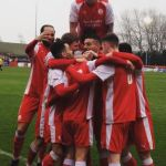 Happiness is scoring a goal….and winning….and attracting the biggest crowd o…