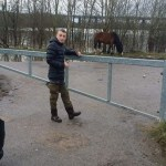 Good work, James Moore.  His quick action resulted in these ponies being rescued…