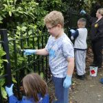 The 21st Ilkeston Cubs were invited to help with the refurbishment of Victoria P…