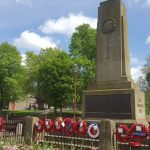 Caring for the war memorials…
