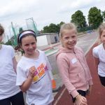 Primary pupils tried out a range of athletics events at a festival organised by …