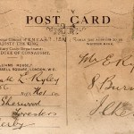 This wartime postcard was discovered by  Ilkeston Life reader  Barbara Eaton….