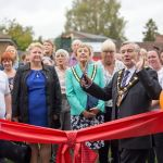 Cotmanhay People's Centre opening.by the Mayor of Erewash, Cllr Chris Corbett.