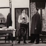 A scene from a play put on by Ilkeston Theatre Club around 1960.  Does it ring a…