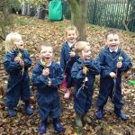 CHILDREN at Scargill School are making the most of learning in the great outdoor…