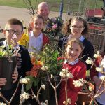 Chaucer Junior School invited celebrity florist Jonathon Moseley to their 'Aspir…