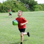 Primary school pupils gave rugby a try at a festival organised by Erewash School…