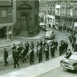 Ilkeston Salvation Army band in the sixties.