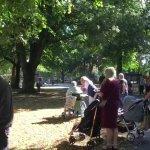 Sunny Victoria Park event…