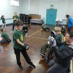 Skills night at Kirk Hallam Cubs