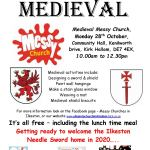Medieval Messy Church activities at Kirk Hallam…