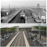 Ilkeston Station, old and new, from Bill Smith...